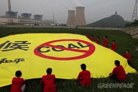 Greenpeace Coal