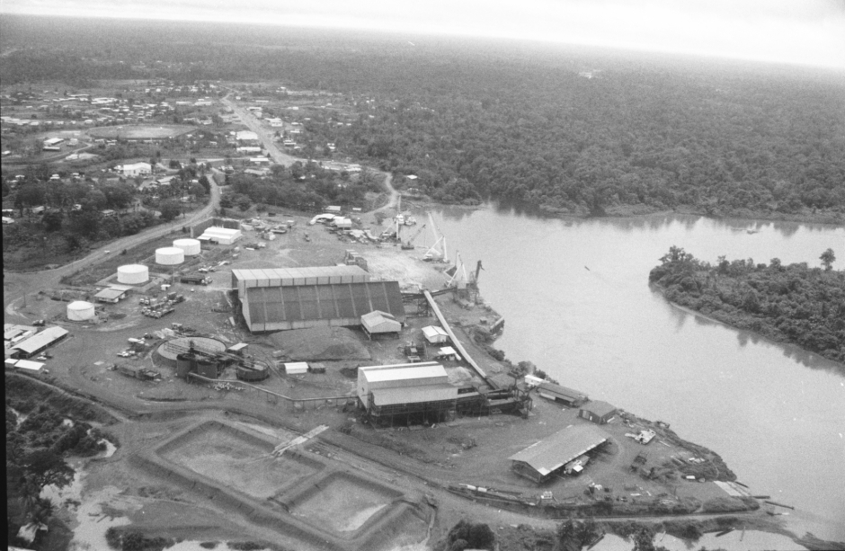 port town of Kiunga