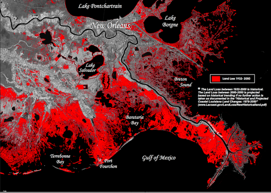 1_historicfuture-land-loss Map Of Mississippi Coast on