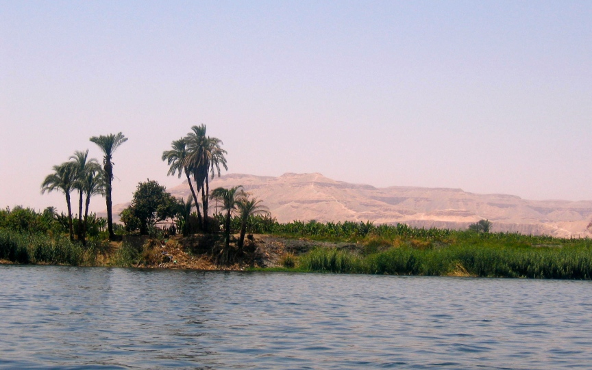 The Nile, Egypt. Photo by Jessica Barnes.