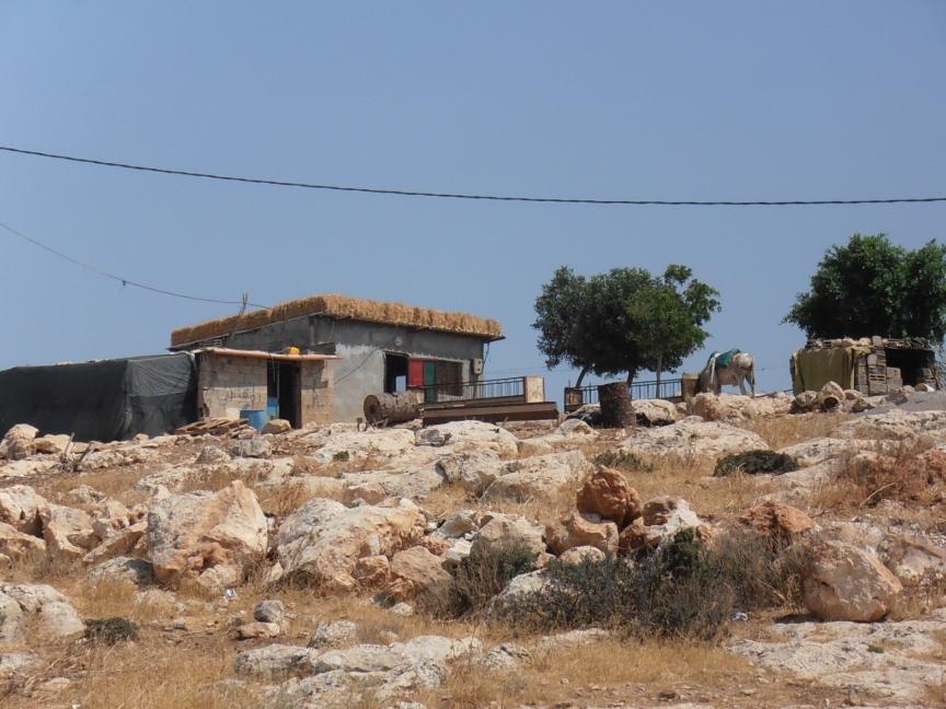 Aqaba Village Home, Outskirts. Photo by Kali Rubaii.