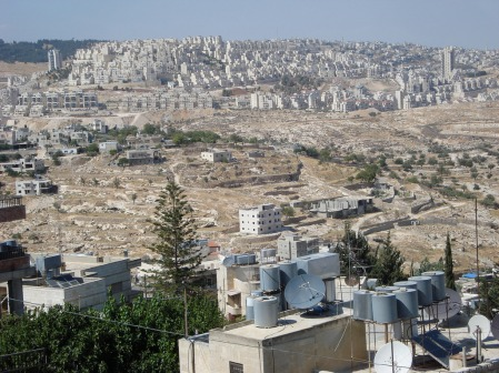 Israeli Settlement. Photo by Kali Rubaii.